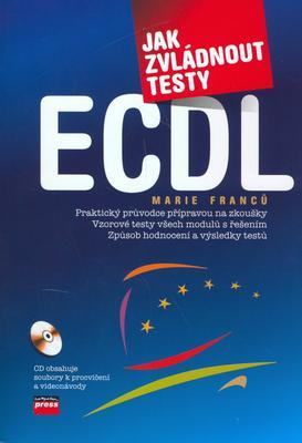 Obrázok Jak zvládnout testy ECDL + CD