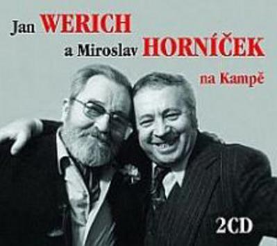 Obrázok Jan Werich a Miroslav Horníček na Kampě