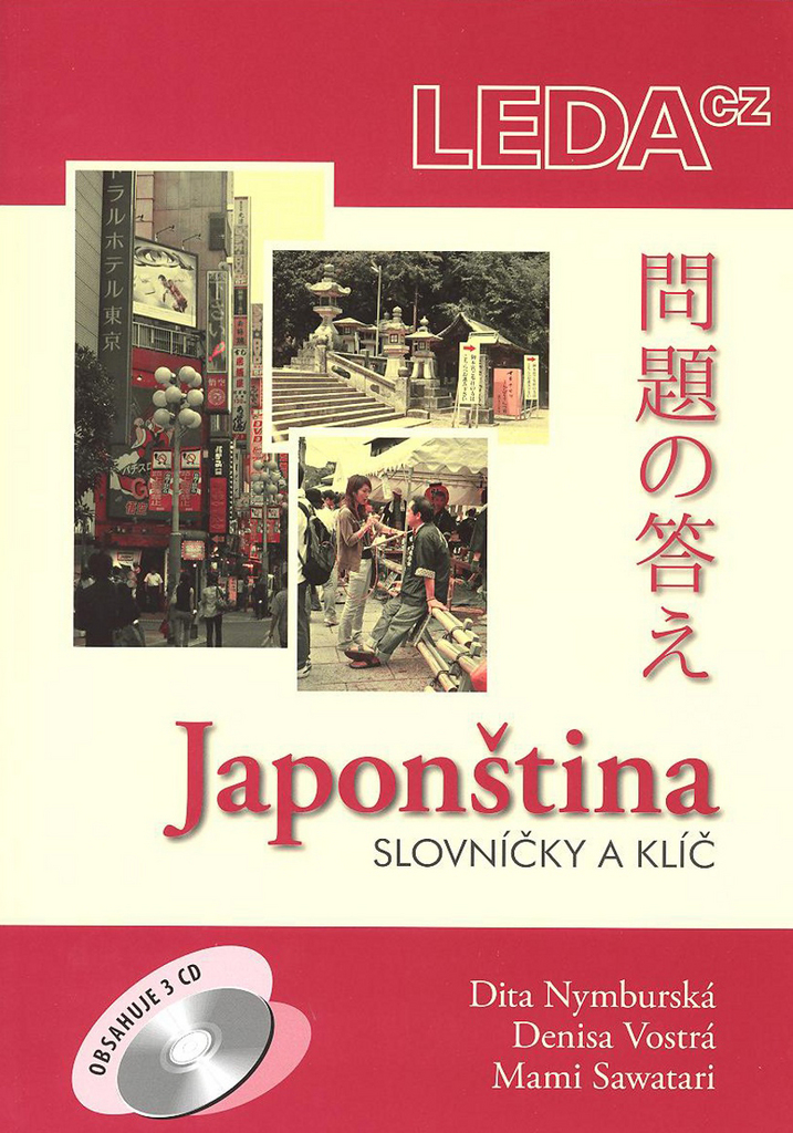 Japonština + 3 CD - Dita Nymburská