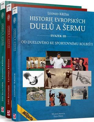 Obrázok Komplet 3ks Historie evropských duelů a šermů svazek I.+ II. + III.