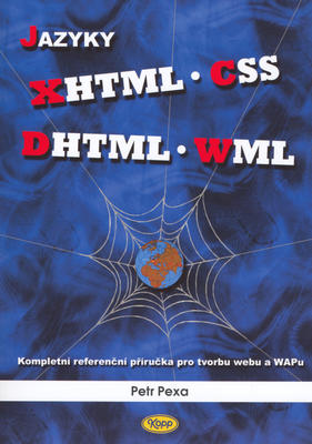 Obrázok Jazyky XHTML, CSS, DHTML, WML