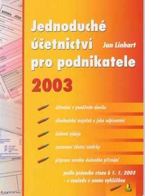 Obrázok Jednoduché účet.pro podn.2003