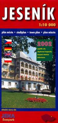 Obrázok Jeseník 1:10T plán města 2002