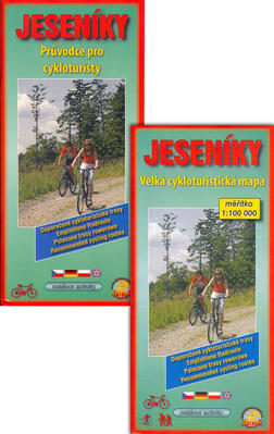 Obrázok Jeseníky Průvodce pro cykloturisty