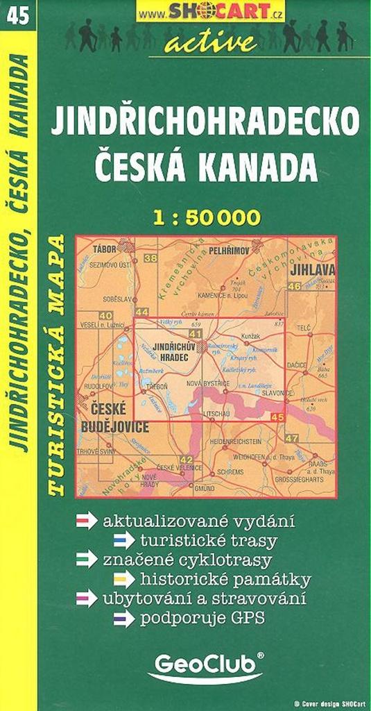 Jindřichohradecko, Česká Kanada 1:50 000