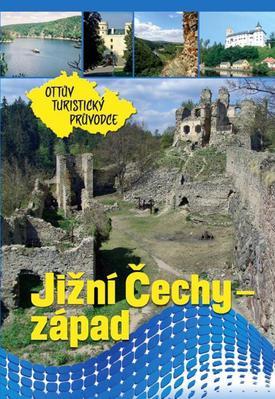 Obrázok Jižní Čechy - západ Ottův turistický průvodce