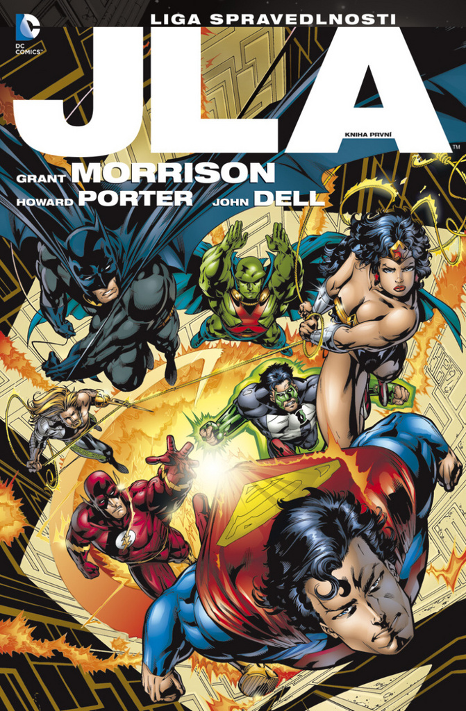 JLA Liga spravedlnosti (1) - Grant Morrison, Howard Porter