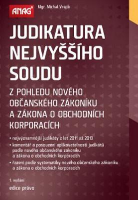 Obrázok Judikatura Nejvyššího soudu z pohledu nového občanského zákoníku...