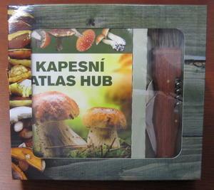 Obrázok Kapesní atlas hub + houbařský nůž