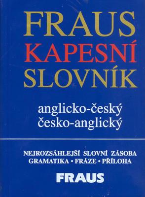 Obrázok Kapesní slovník anglicko-český česko-anglický