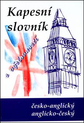 Obrázok Kapesní slovník s výslovností česko-anglický,anglicko-český