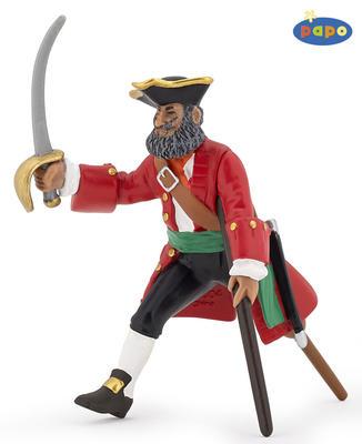 Obrázok Kapitán s dřevěnou nohou červený