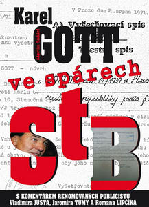 Obrázok Karel Gott ve spárech StB