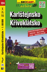 Obrázok Karlštejnsko, Křivoklátsko 1:60 000