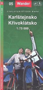 Obrázok Karlštejnsko Křivoklátsko 1:75 000