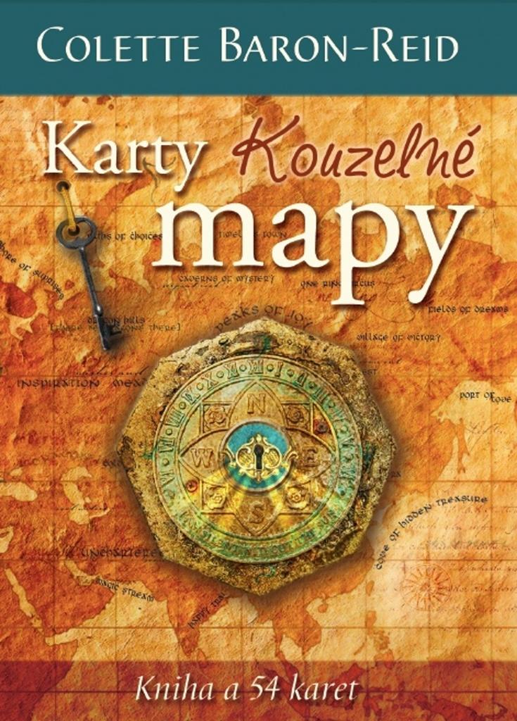 Karty Kouzelné mapy - Colette Baron-Reid