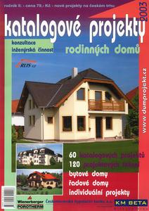 Obrázok Katalogové projekty rodinných domů 2003