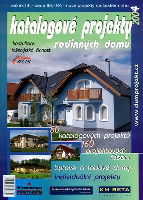Obrázok Katalogové projekty rodinných domů 2004