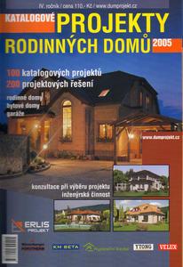 Obrázok Katalogové projekty rodinných domů 2005