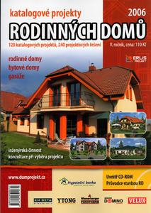 Obrázok Katalogové projekty rodinných domů 2006