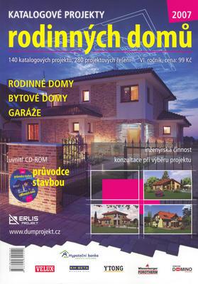 Katalogové projekty rodinných domů 2007