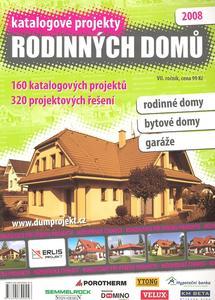 Obrázok Katalogové projekty rodinných domů 2008