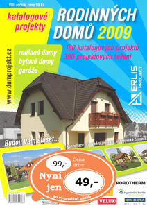Obrázok Katalogové projekty rodinných domů 2009