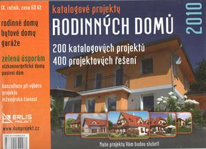 Obrázok Katalogové projekty rodinných domů 2010