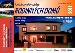 Obrázok Katalogové projekty rodinných domů 2011