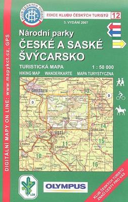 Obrázok KČT 12 NP České a Saské Švýcarsko