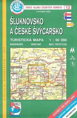 Obrázok KČT 13 Šluknovsko a České Švýcarsko