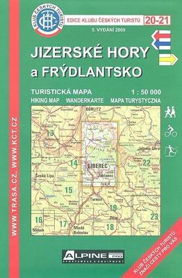KČT 20-21 Jizerské hory a Frýdlantsko