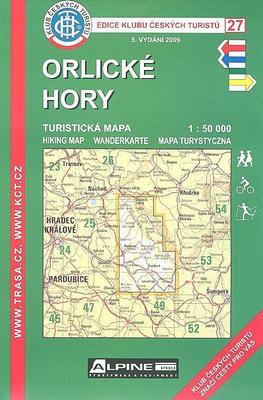 Obrázok KČT 27 Orlické hory 1:50 000