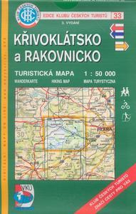 Obrázok KČT 33 Křivoklátsko a Rakovnicko