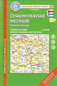 Obrázok KČT 49 Českomoravské mezihoří Českotřebovsko
