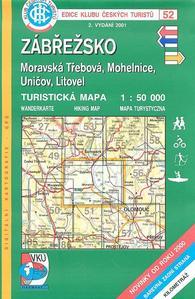 Obrázok KČT 52 Zábřežsko, Moravská Třebová, Mohelnice, Uničov, Litovel
