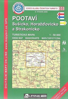 KČT 68 Pootaví, Sušicko, Horažďovicko a Strakonicko