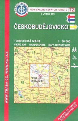 Obrázok KČT 72 Českobudějovicko