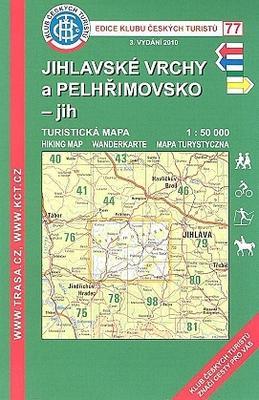 Obrázok KČT 77 Jihlavské vrchy a Pelhřimovsko jih