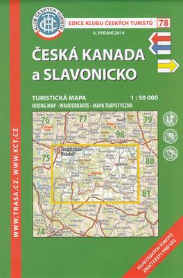 Obrázok KČT 78 Česká Kanada a Slavonicko