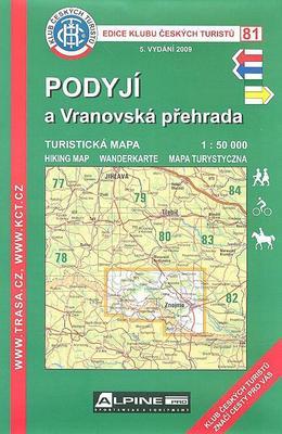 KČT 81 Podyjí a Vranovská přehrada