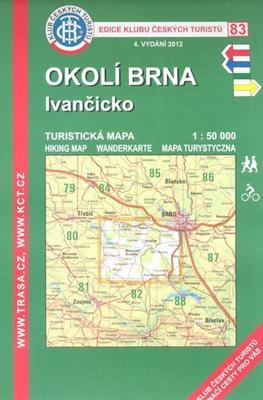 Obrázok KČT 83 Okolí Brna, Ivančicko