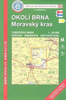 KČT 86 Okolí Brna-Moravský kras