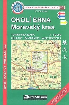 KČT 86 Okolí Brna Moravský kras