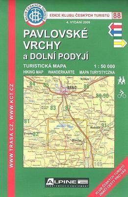 KČT 88 Pavlovské vrchy a Dolní Podyjí