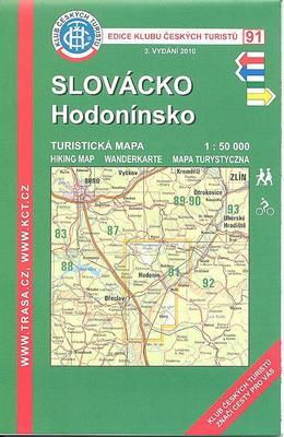Obrázok KČT 91 Slovácko, Hodonínsko 1:15 000