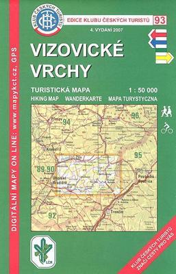 Obrázok KČT 93 Vizovické vrchy
