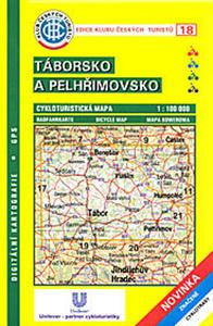 Obrázok KČTC 18 Táborsko a Pelhřimovsko 1:100 000