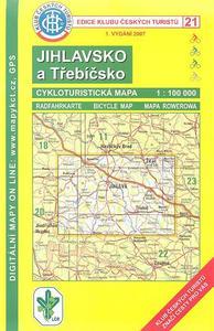 Obrázok KČTC 21 Jihlavsko a Třebíčsko 1:100 000