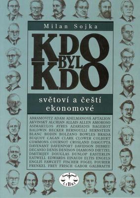 Obrázok Kdo byl kdo Světoví a čeští ekonomové
